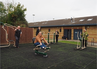Sunderland Road Outdoor Gym Opened