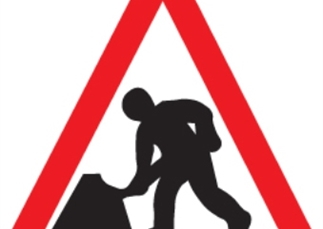 Work to repair the A1 between Sandy and George Town